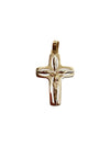 Oval Cutout Cross
