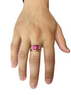 Ruby Stone Ring (14K Gold)