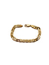 Yellow Mariner Chain Bracelet (14K Gold)