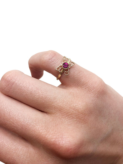 Mariposa Ruby Ring