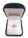 Flower Ruby Ring