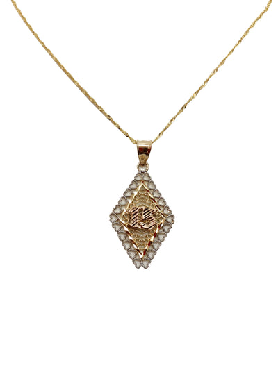 Diamond Quince Necklace
