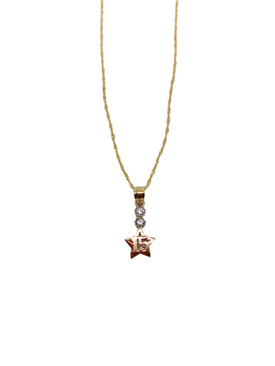 Shooting Star Quince Necklace
