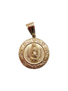 Jesus And Guadalupe Coin Charm