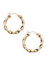 Mini Twisted Hoops