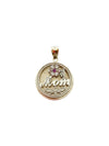#1 Mom Disc Charm (10k gold)