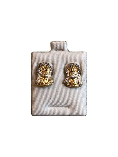 Jesus Bust Earrings
