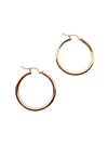 Simple Gold Hoops