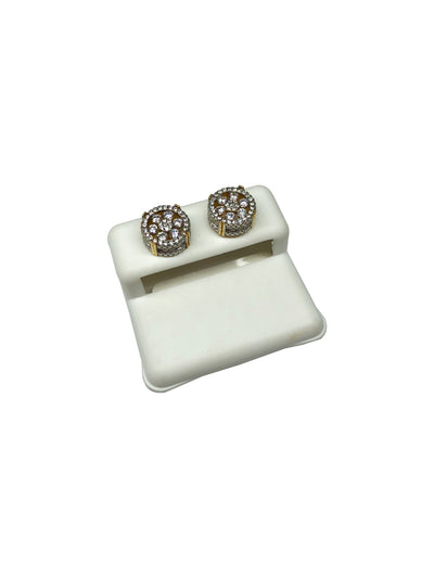 Dotted Zirconia Studs