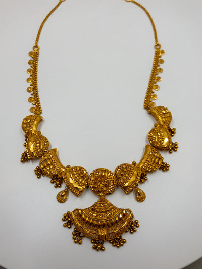 24k Gold Mangalsutra Necklace