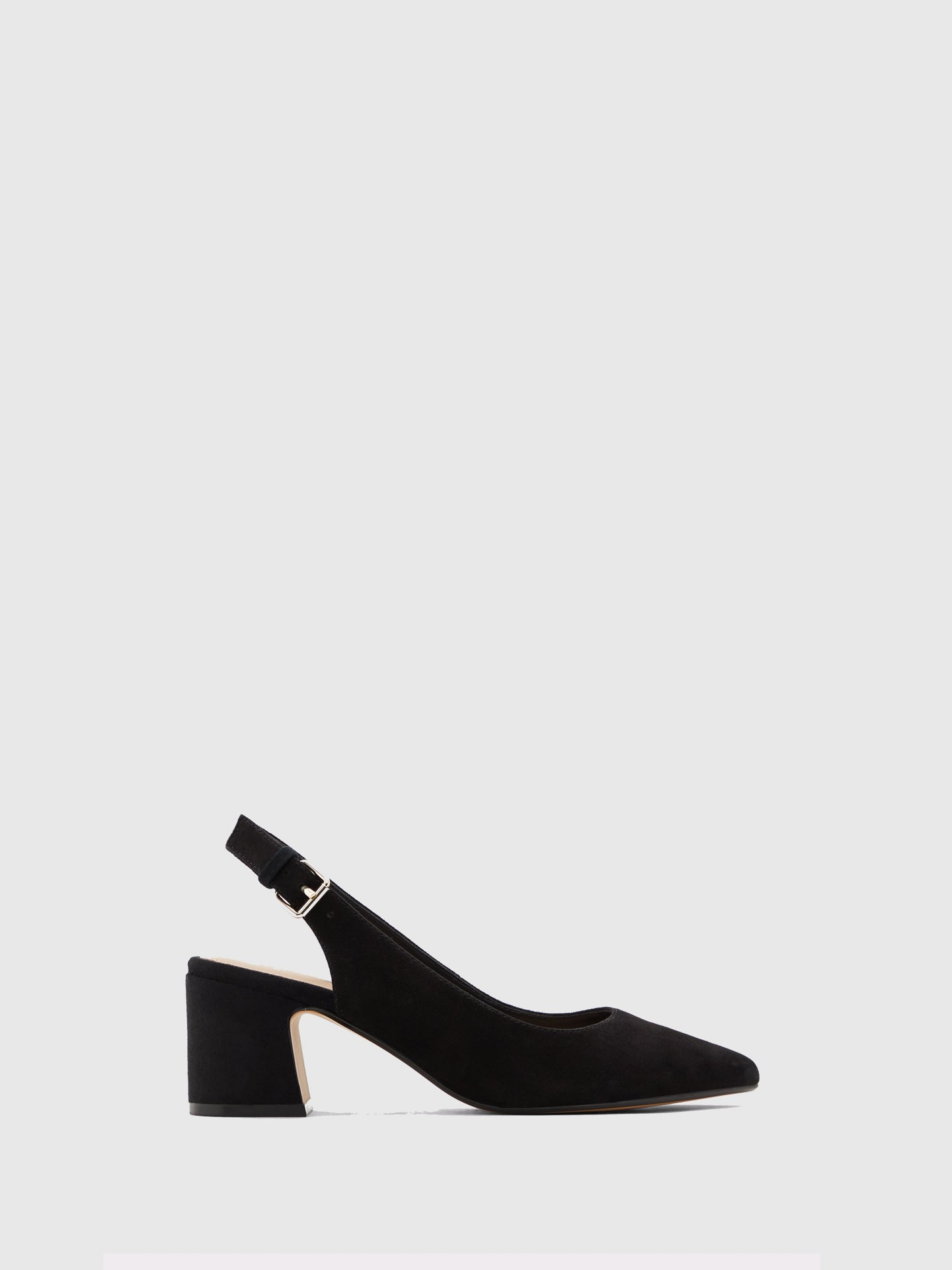 Aldo Black Suede Pointed Toe Shoes