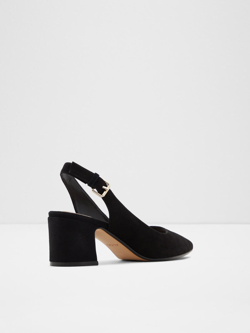 Black Suede Pointed Toe Shoes