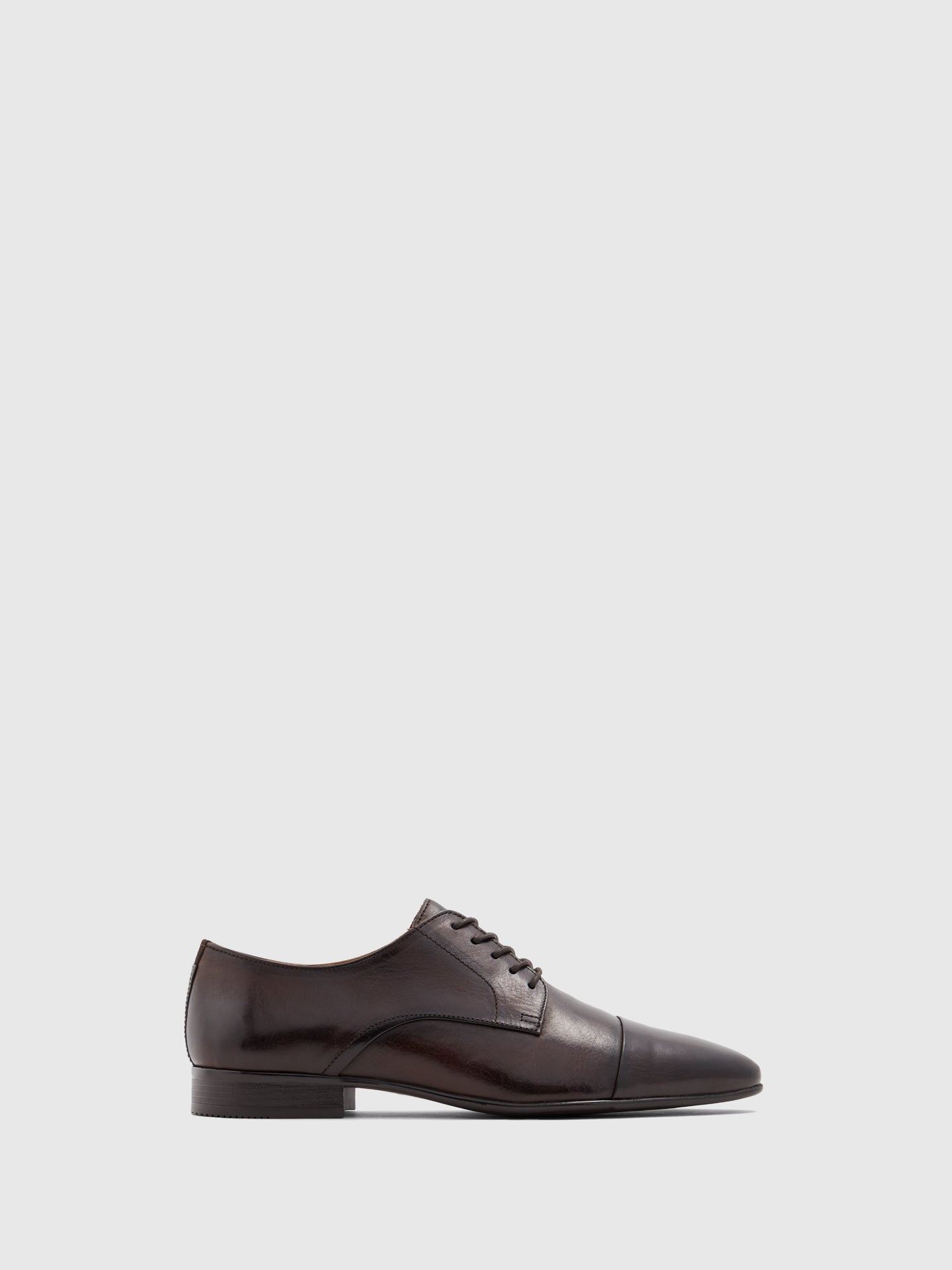 Aldo Brown Leather Lace-up Shoes