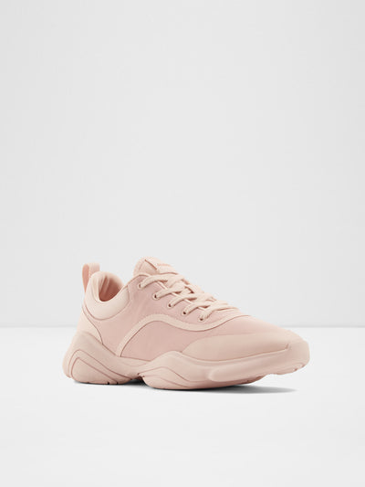 Aldo Pink Lace-up Trainers