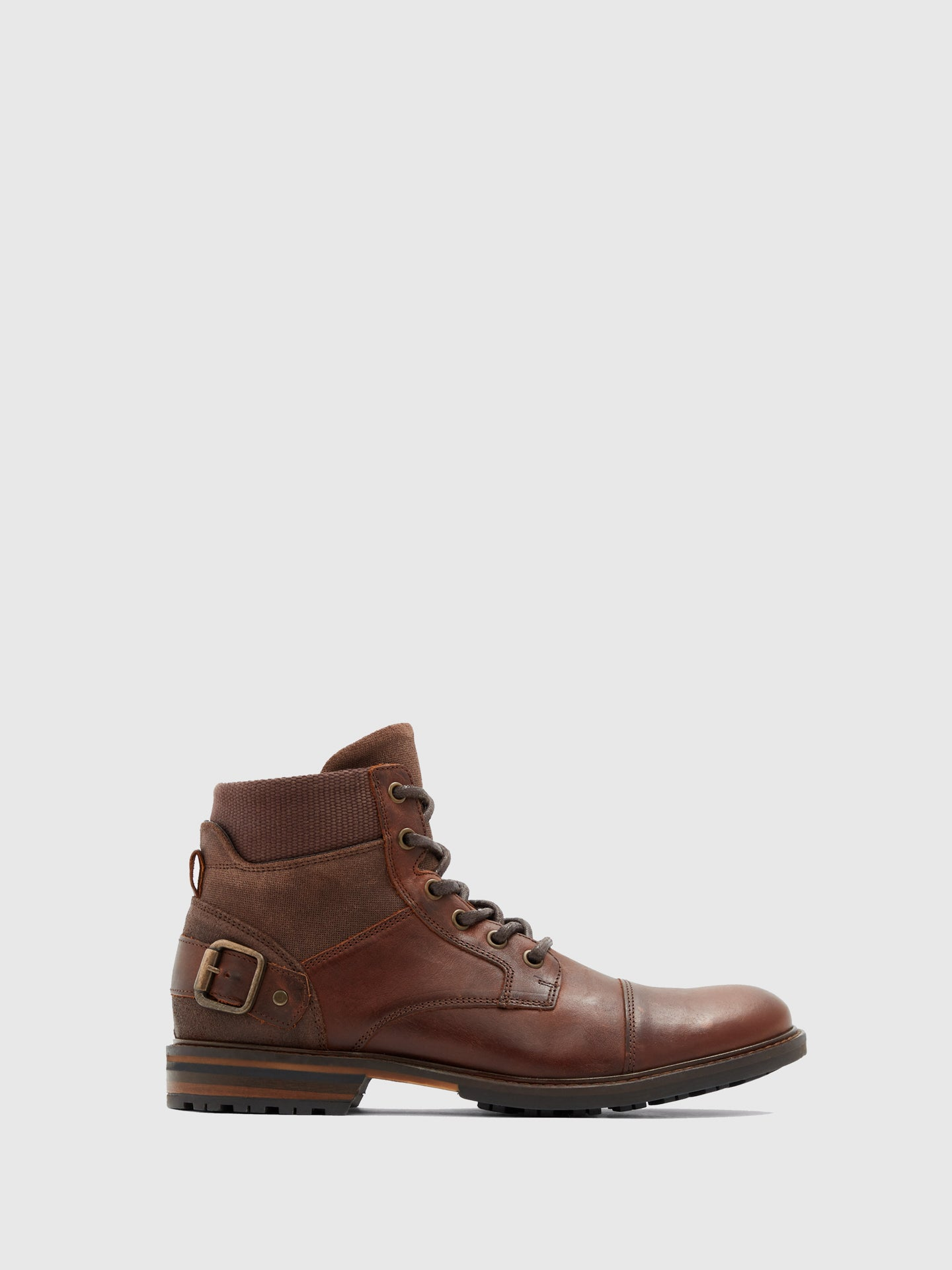 Aldo Chocolate Lace-up Boots