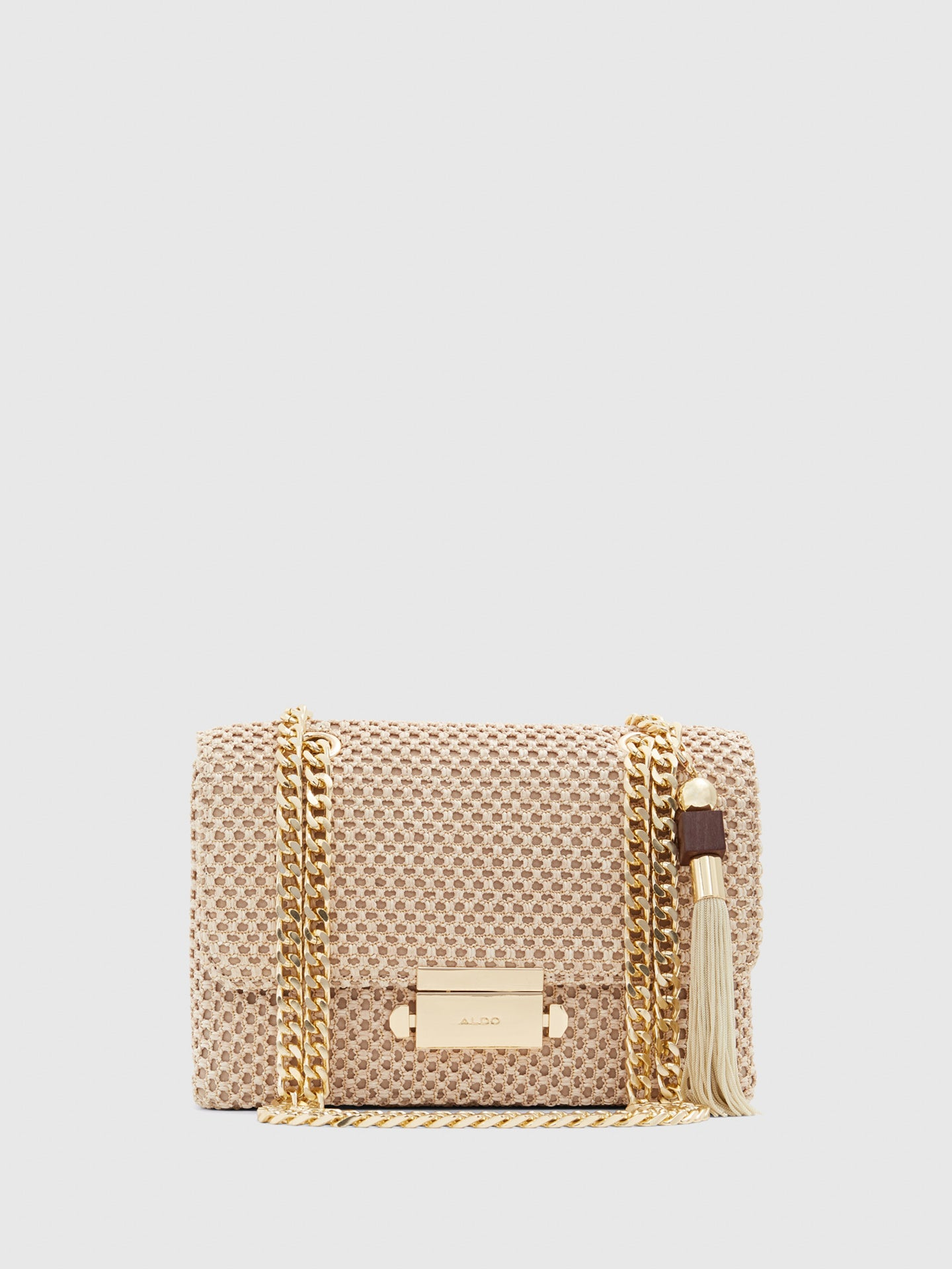 Aldo Beige Shoulder Bag