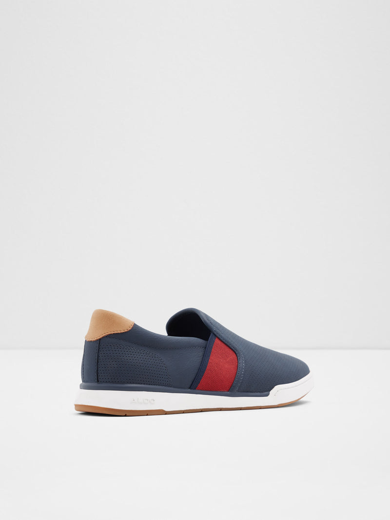 Aldo Blue Slip-on Trainers