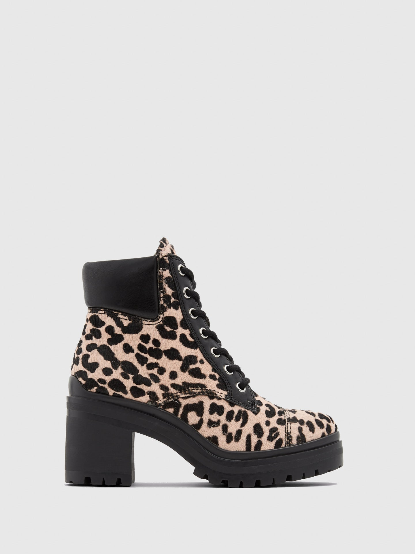 Aldo Multicolor Lace-up Ankle Boots