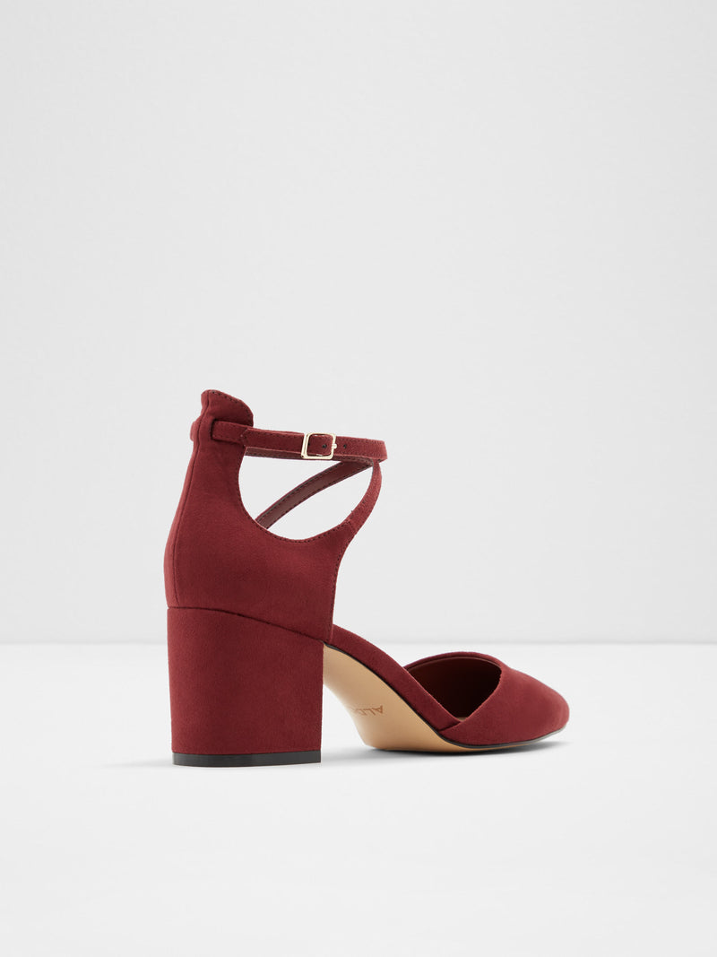 DarkRed Sling-Back Pumps Shoes