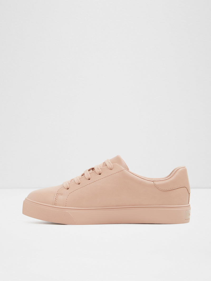 LightPink Lace-up Trainers