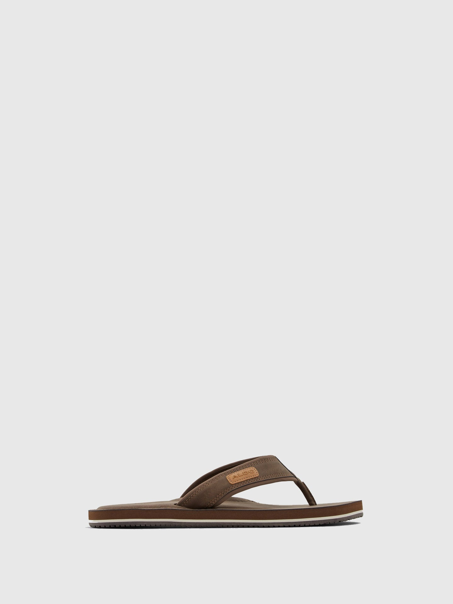 Aldo Brown Thong Sandals