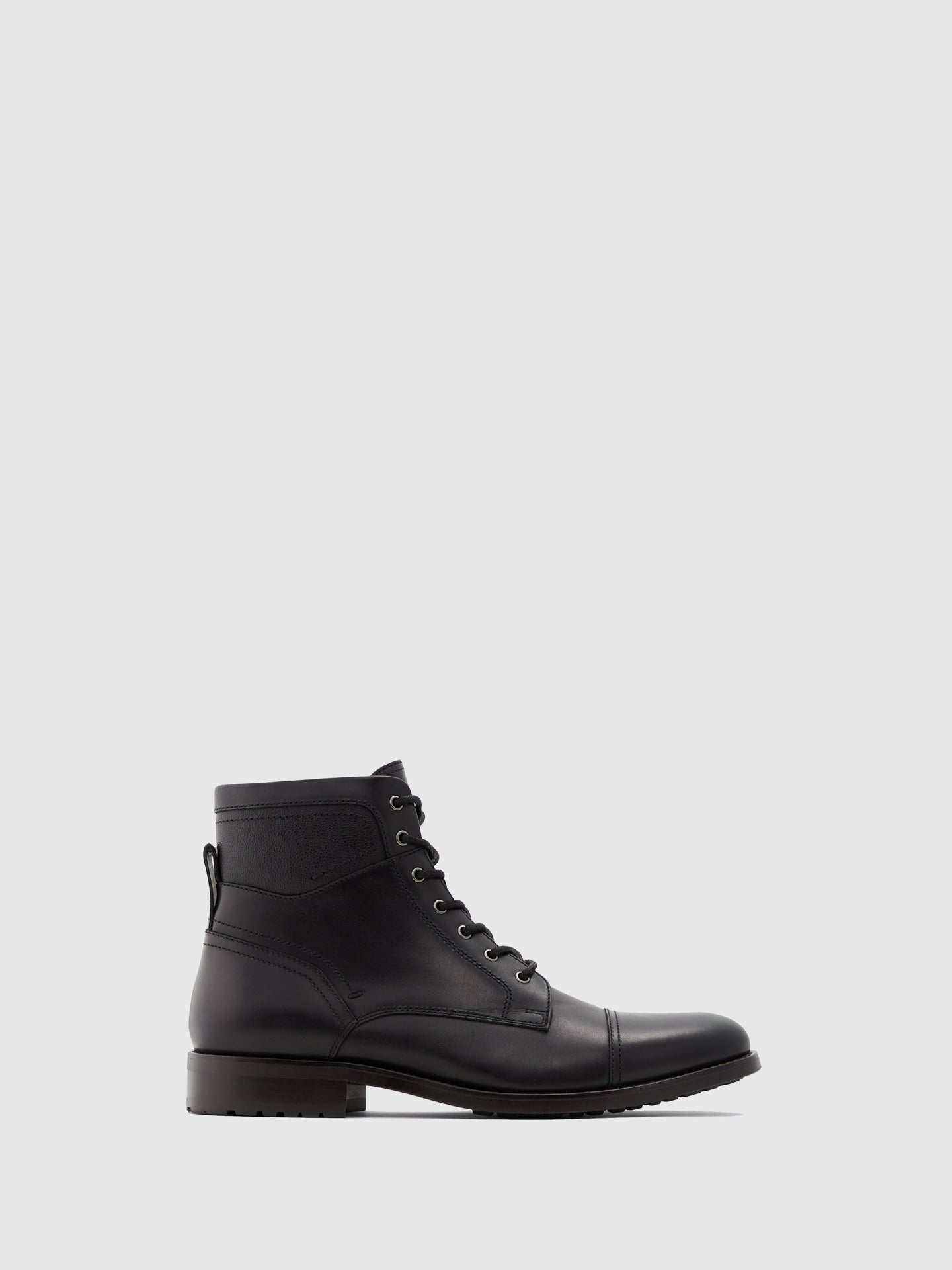 Aldo Black Lace-up Boots