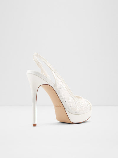 Aldo White Stiletto Shoes