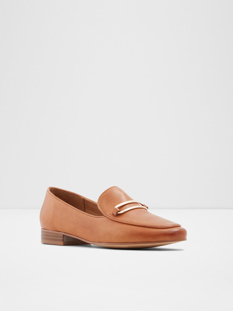 Aldo Brown Round Toe Ballerinas