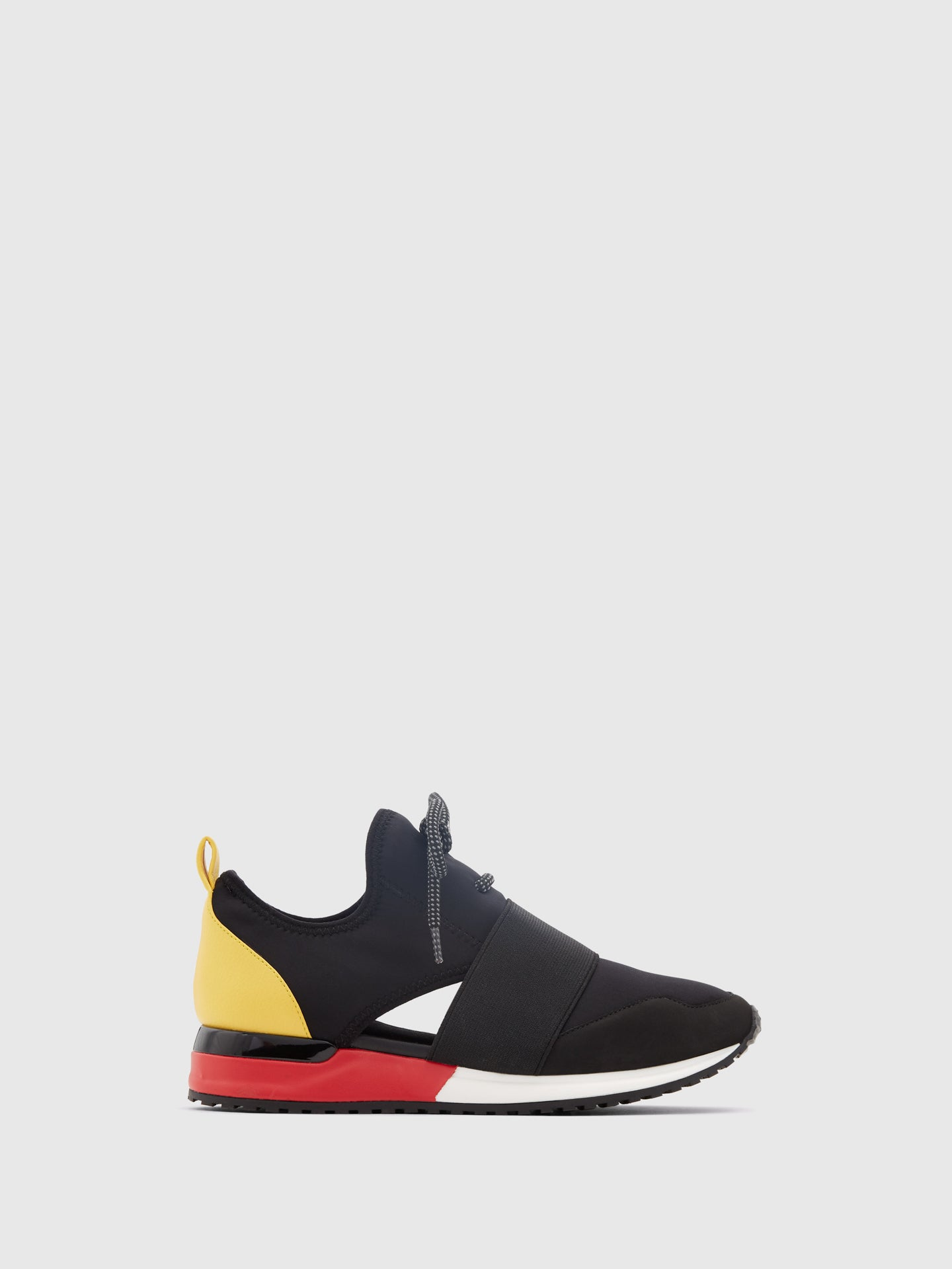 Aldo Black Slip-on Trainers