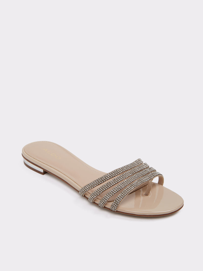 Beige Open Toe Sandals