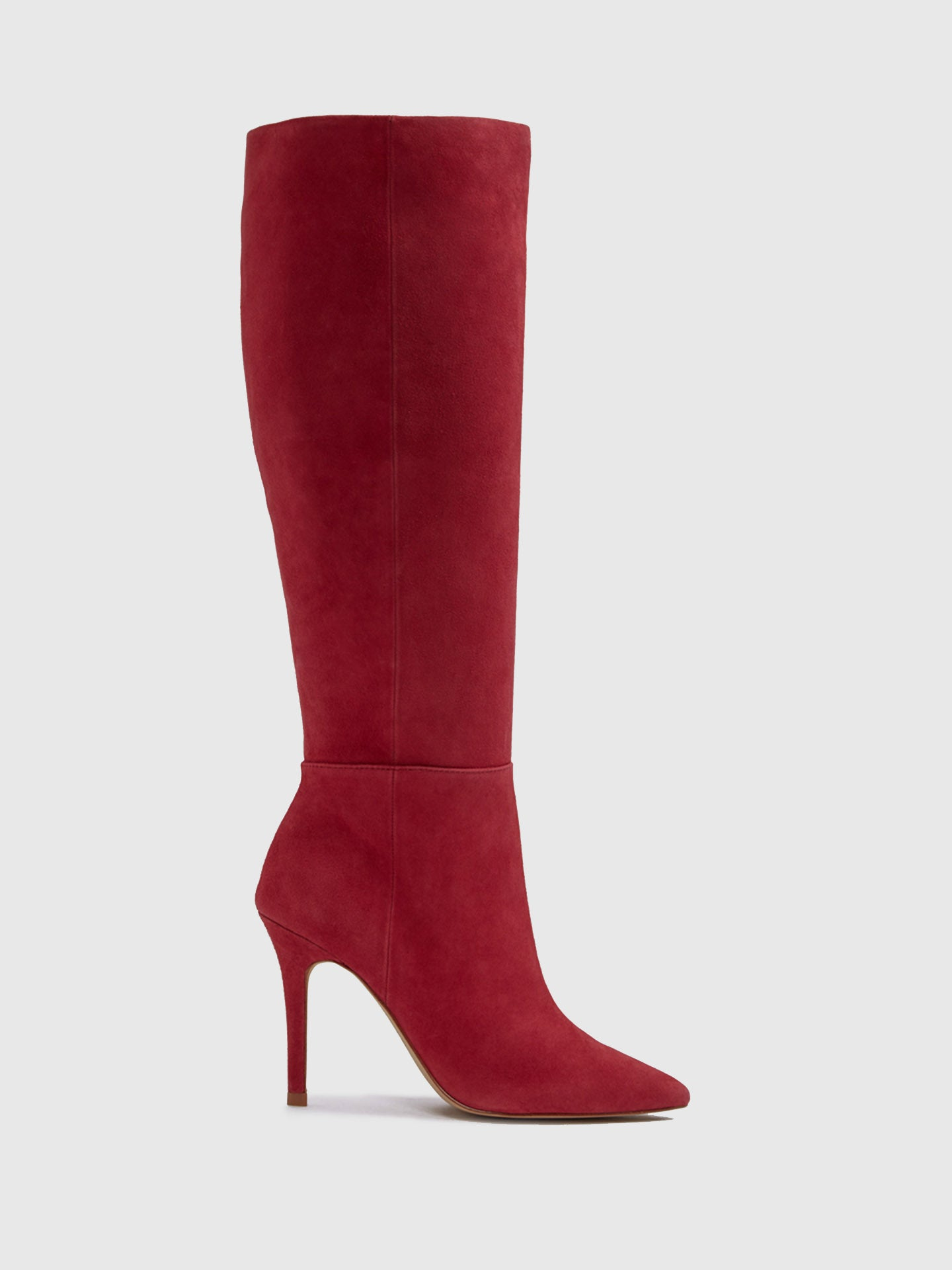 Aldo Red Knee-High Boots