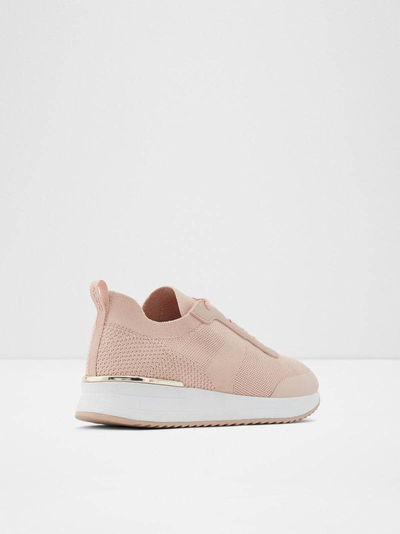 Aldo LightPink Lace-up Trainers