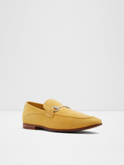 Aldo Yellow Loafers Shoes