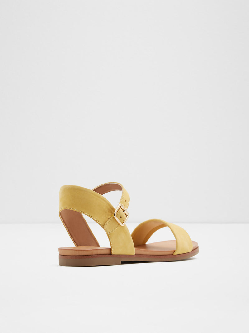 Yellow Open Toe Sandals