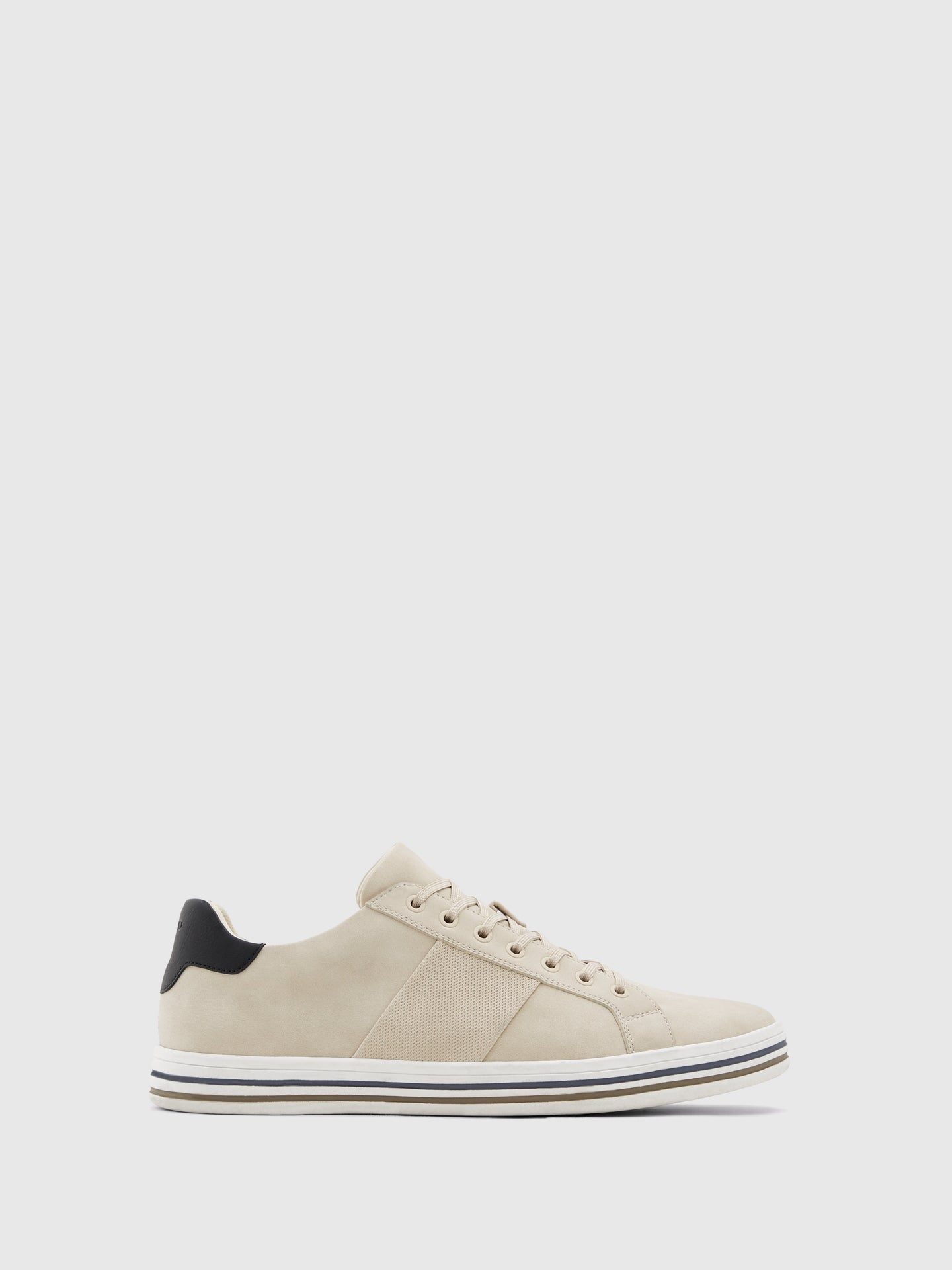 Aldo Beige Lace-up Trainers