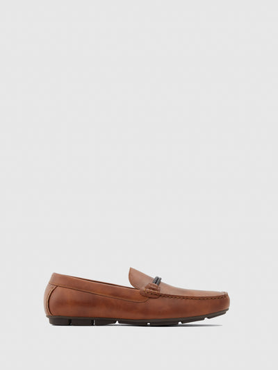 Aldo Brown Mocassins Shoes