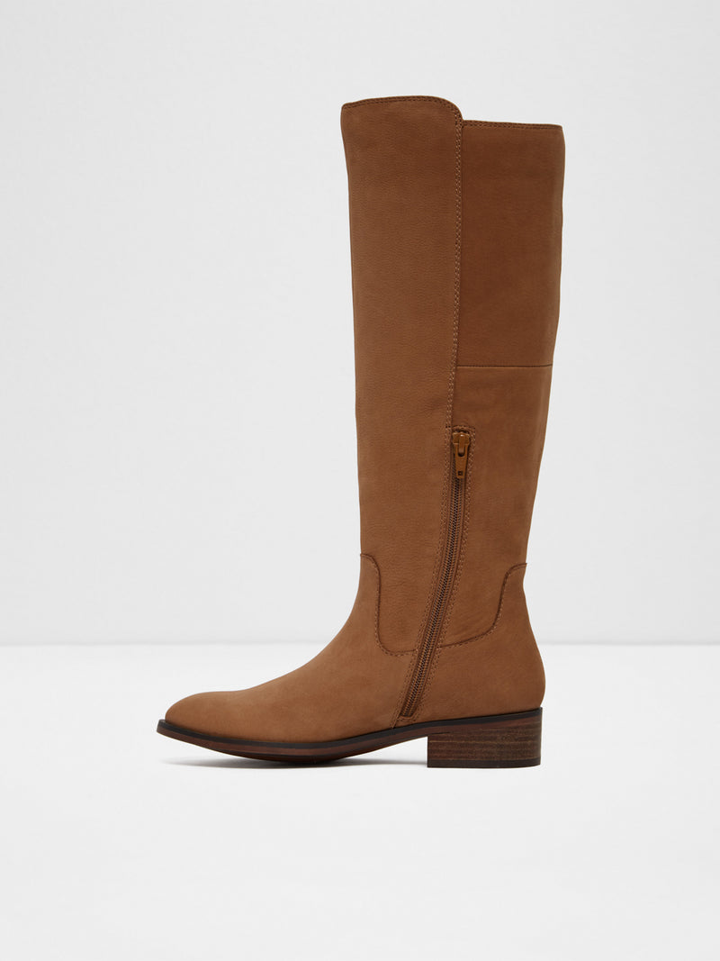 Brown Knee-High Boots