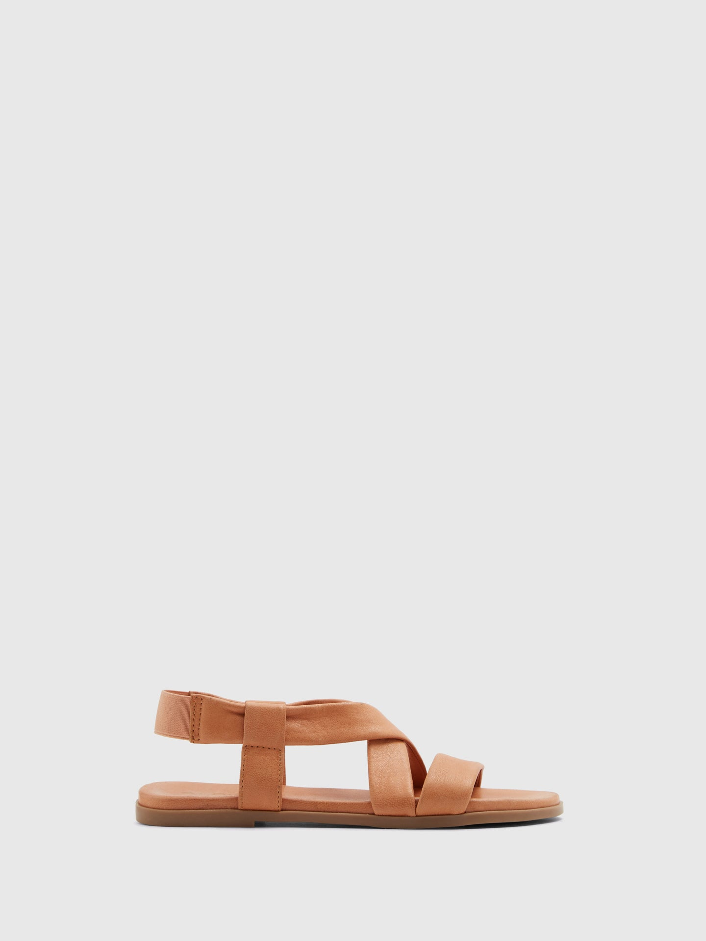 Aldo Brown Sling-Back Sandals