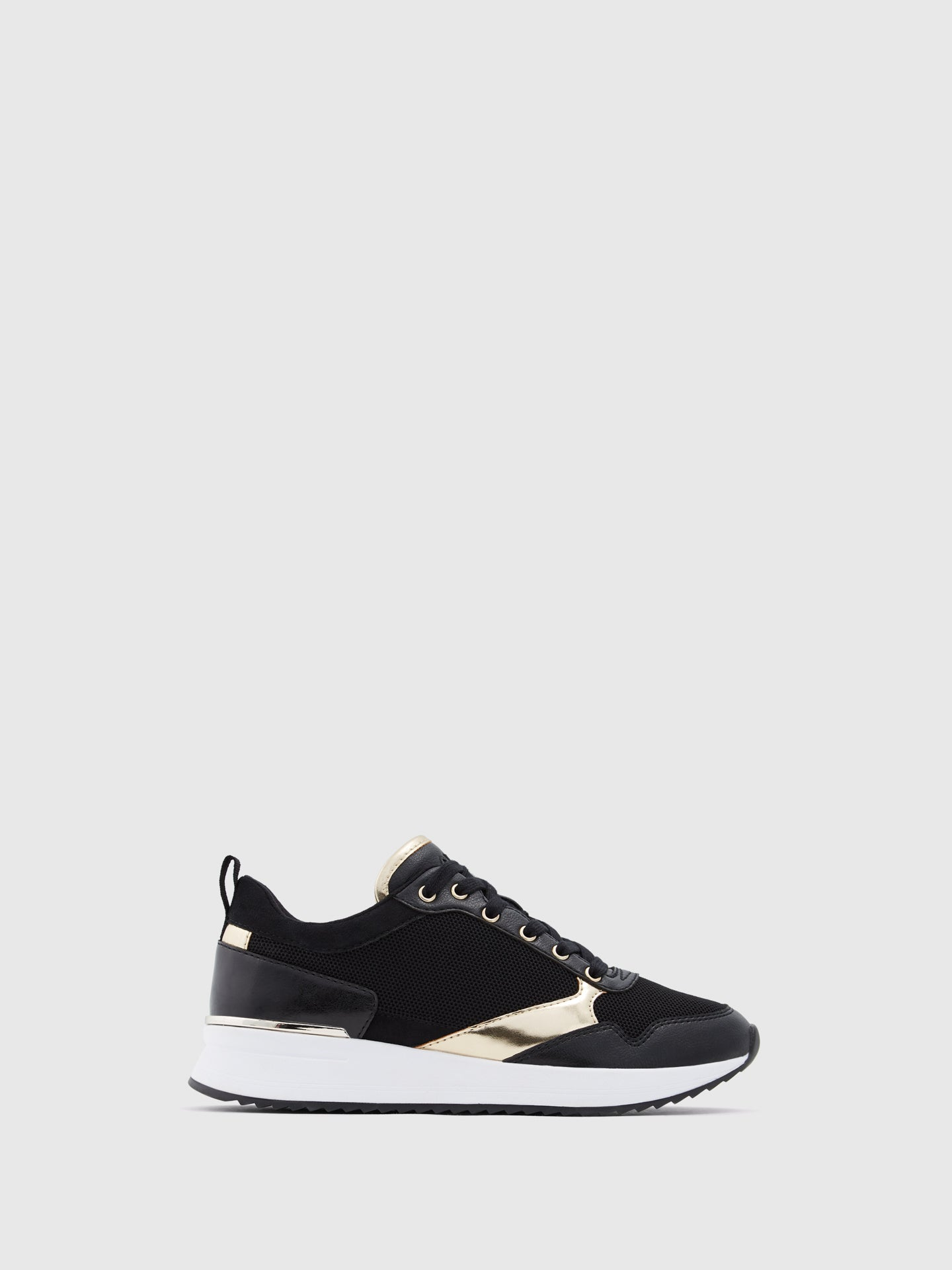 Aldo Black Lace-up Trainers