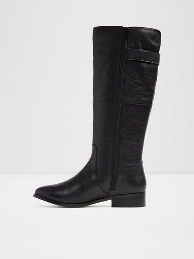 Aldo Black Knee-High Boots