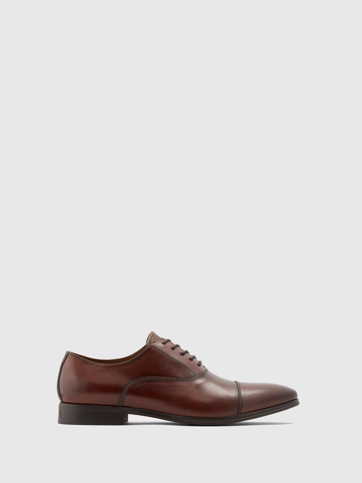 Aldo Chocolate Lace-up Shoes