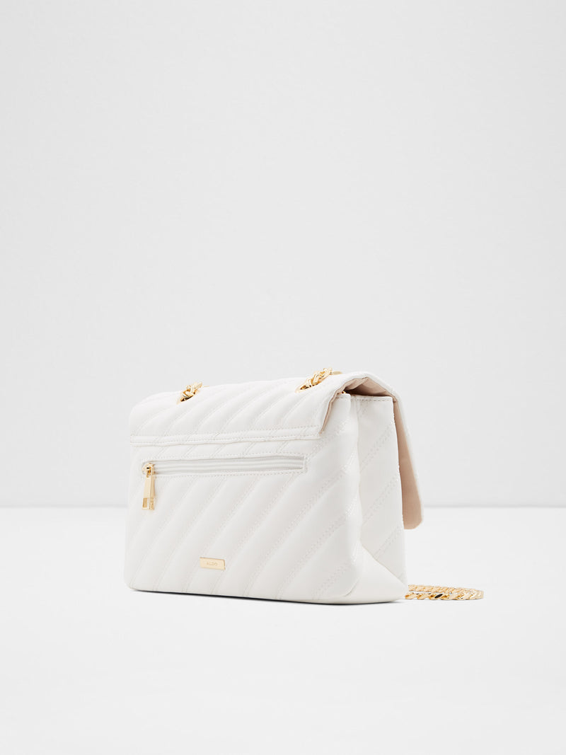 Aldo White Crossbody Bag