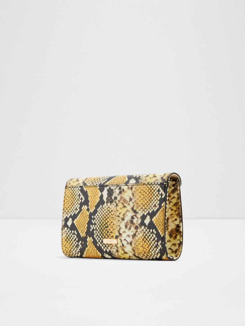 Yellow Black Clutch