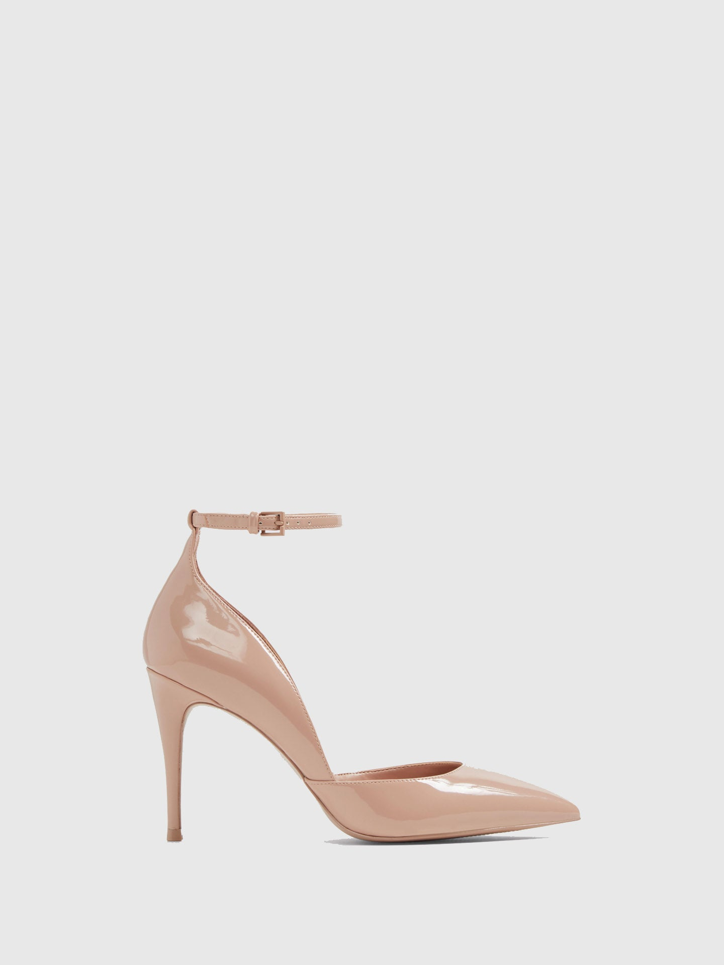Aldo LightPink Ankle Strap Shoes