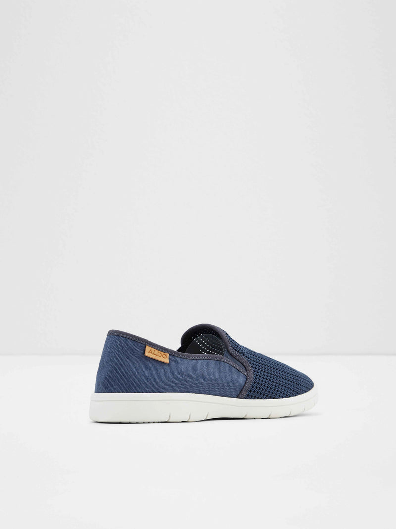 Aldo Blue Slip-on Shoes