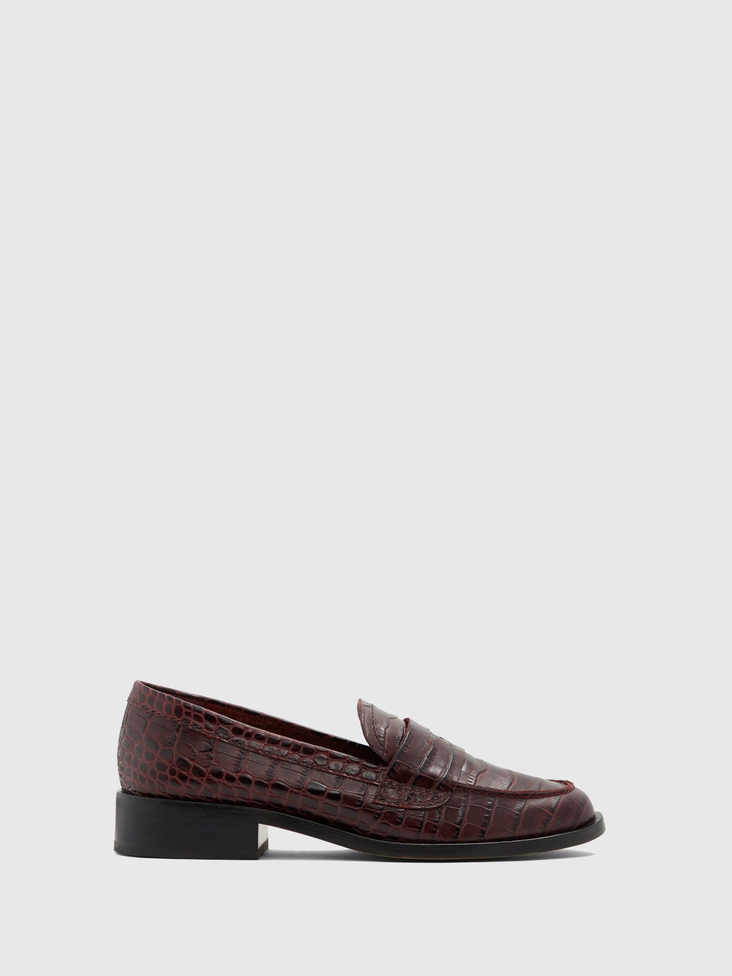 Aldo DarkRed Loafers Shoes