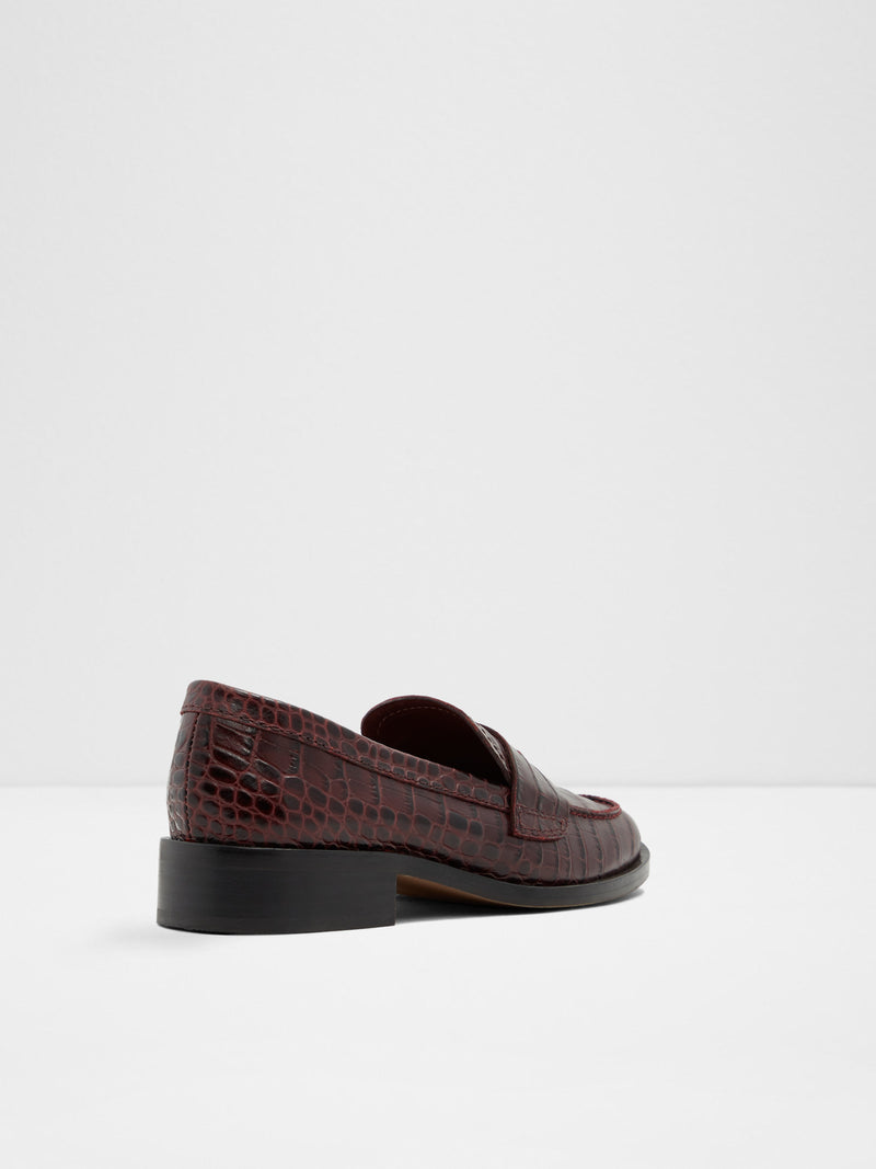 DarkRed Loafers Shoes