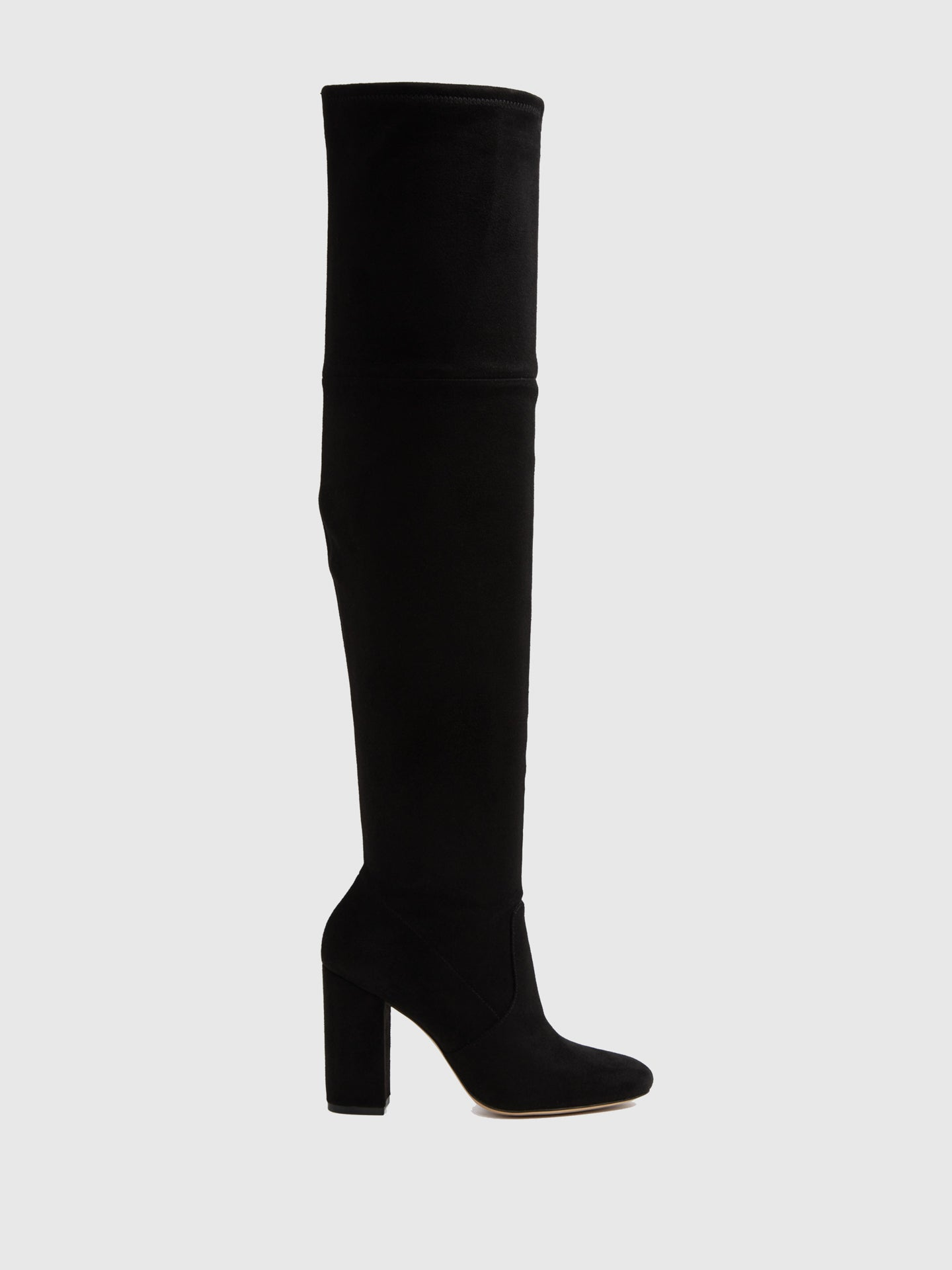 Aldo Black Suede Over the Knee