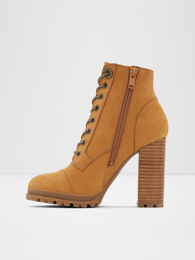 Aldo Brown Lace-up Ankle Boots