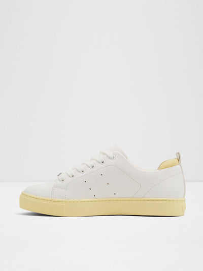 Aldo LightYellow Lace-up Trainers